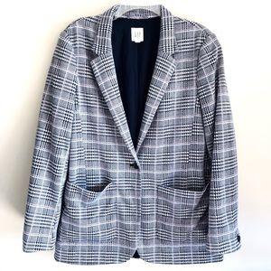 Gap One Button Blazer Jacket